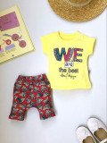 Costumas fetite cu tricou - We are the best!