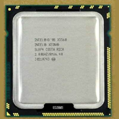 Procesor server Intel Xeon QUAD X5560 SLBF4 2.8Ghz 8M SKT 1366 foto