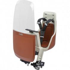 Paravant pentru scaun de bicicleta Bobike Exclusive mini, Maro