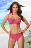Costum de baie doua piese Whitney Coral neintarit, Volin