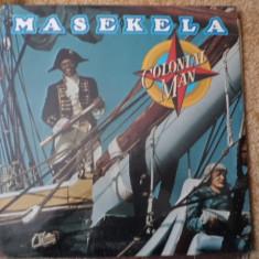 hugh masekela colonial man disc vinyl lp muzica jazz funk casablanca USA 1976
