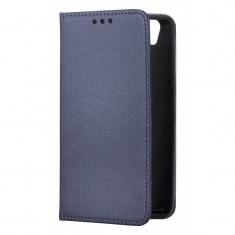 Husa Piele OEM Smart Magnet pentru Samsung Galaxy A7 (2018) A750, Bleumarin
