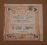 Actiune Uzinele chimice romane - 1920 - Actie - Actiuni