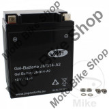 MBS Baterie moto fara intretinere cu gel 12V14Ah YB14-A2 JMT, Cod Produs: 7070008MA