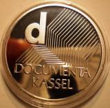A.734 GERMANIA DOCUMENTA KASSEL 10 EURO 2002 J PROOF ARGINT .925/18g
