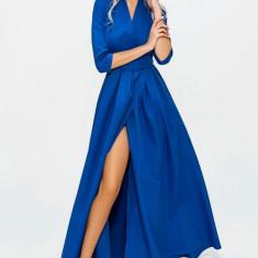 Rochie lungă cu tăietură