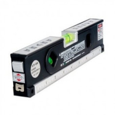Nivela multifunctionala cu laser,ruleta si boloboc Laser Level Pro 4