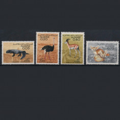 Algeria 1967 fauna  mnh, China, Organizatii internationale, Nestampilat