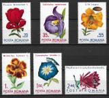 România - 1971 - LP 767 - Flori din grădini botanice - serie completă MNH, Nestampilat