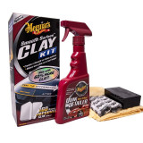 Meguiar's Kit Plaselina Curatare Smooth Surface Clay Kit 473ML G1016EU