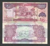 SOMALILAND    1000  1.000   SHILLINGS  2011  UNC   [1]  P- 20a  ,  necirculata