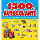 1300 de autocolante - Carti pentru copii