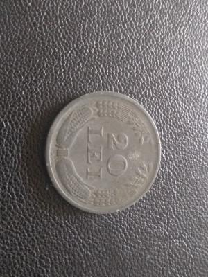 Monedă 20 lei 1942 Romania foto