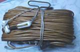 Antena f.rara statie radio vechi armata militara transmisionist galene.,