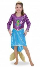 Costum Copii pentru serbare Sirena Deluxe 128 cm foto