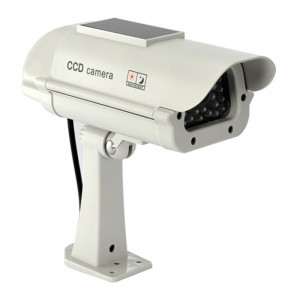 Camera solara falsa cu led intermitent Dummy Cam, 2 x AA