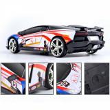 Masina cu telecomanda Lamborghini, de curse, multicolora