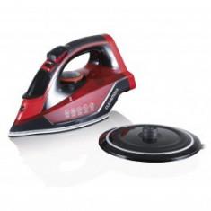 Fier de călcat CLEANmaxx - fără fir - roșu / negru,2600w