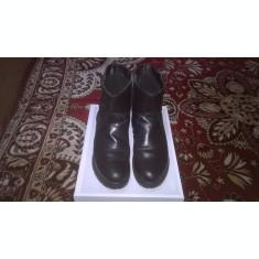 Vand cizme dama din piele naturala, imblanite