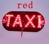 Placuta cu led, indicator taxi, 45 smd 3528, lumina rosie, Universal