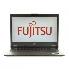 Laptop Fujitsu Lifebook E448 14 inch FHD Intel Core i7-7500U 8GB DDR4 512GB SSD Windows 10 Pro Black, 8 Gb, 512 GB