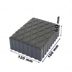 Tampon din cauciuc pentru elevator 120x160x60mm