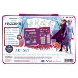 Trusa artistului Disney Frozen II cu acuarele si culori, 68 buc