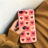 Carcasa pentru iPhone cu inimioare