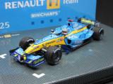 Macheta Renault R25 Minichamps 1:43