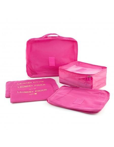Set 6 accesorii de organizare bagaje