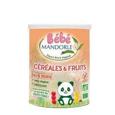 Cereale Bio cu Fructe pentru Bebelusi La Mandorle 400gr Cod: 3760030723429