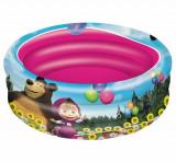 Masha si ursul - piscina cu 3 inele, Mondo