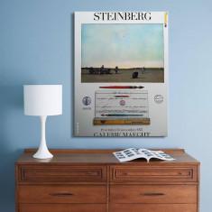 Saul Steinberg (1914,Ramnicu Sarat-1999,New York)-Lucrare deosebita, format mare