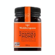 Miere de Manuka KFactor 16 RAW Wedderspoon 500gr Cod: wed04