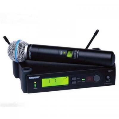 Microfon fara fir SHURE SLX2 / BETA 58A foto