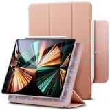 Husa Tableta TPU ESR Rebound Magnetic pentru Apple iPad Pro 11 (2020) / Apple iPad Pro 11 (2021), Roz Aurie