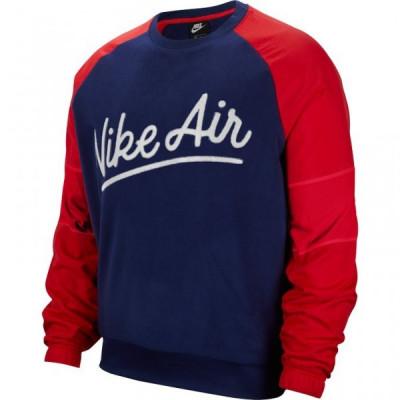 Bluza Nike M NSW Nike AIR CREW MIX SSNL foto