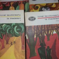 IONEL TEODOREANU - LA MEDELENI (VOL I -IV) T 12/13
