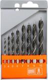 Set 8 burghie pentru lemn 3-10 mm STHOR