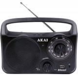 Radio Portabil AKAI APR-85BT, Bluetooth (Negru)