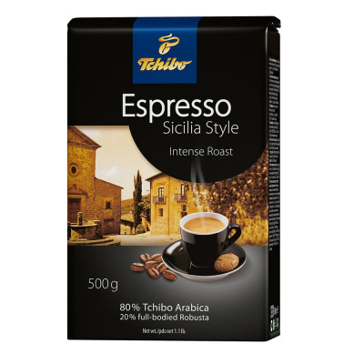 Tchibo Espresso Sicilia Style Cafea Boabe 500g foto