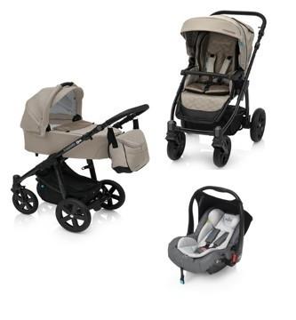 Carucior 3 in 1 Baby Design Lupo Comfort 09 Beige foto