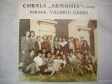 """Corala """"Armonia"""" - Iași* Dirijor: Valeriu Gâdei"""