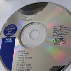 MUSIC AROUND THE WORLD - LATIN(MEXICO)  - CD