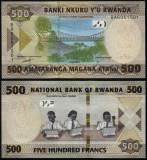 = RWANDA - 500 FRANCS - 2019 -  UNC =