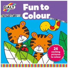 Carte de Colorat Fun to Color