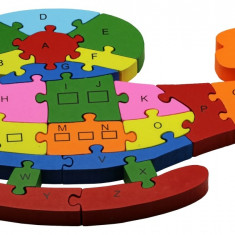 Puzzle Elicopter M lemn