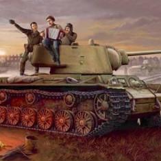 1:35 KV-1 model 1942 Lightweight Cast Tank 1:35