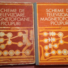 Scheme De  Televizoare, Magnetofoane, Picupuri.2 Vol - M. Silisteanu, I. Presura, Alta editura, 1971