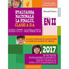 Evaluare Nationala 2017. Clasa II. Matematica - Manuela Dinescu